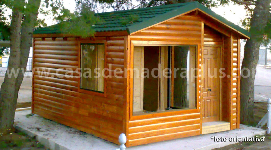 Casa de madera plus 26 - Montaje casa de madera ...