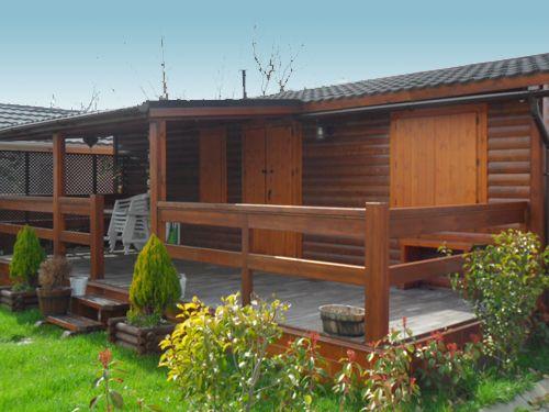 Venta de casas de madera de segunda mano casetas de madera for Terrazas de madera para casas