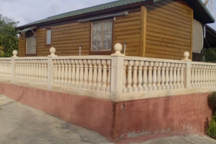 Mantenimiento casa de madera en ribarroja valencia - Casas de madera valencia ...