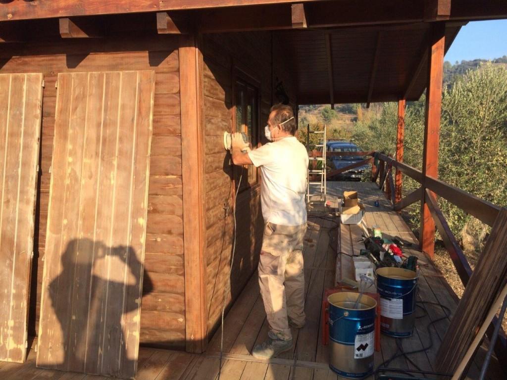 mantenimiento casa madera