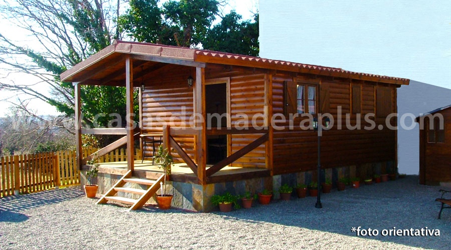 Casa de madera plus 42 - Casas de madera segunda mano valencia ...