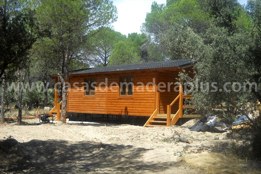 Casa de madera 52m cuenca - Casas prefabricadas cuenca ...