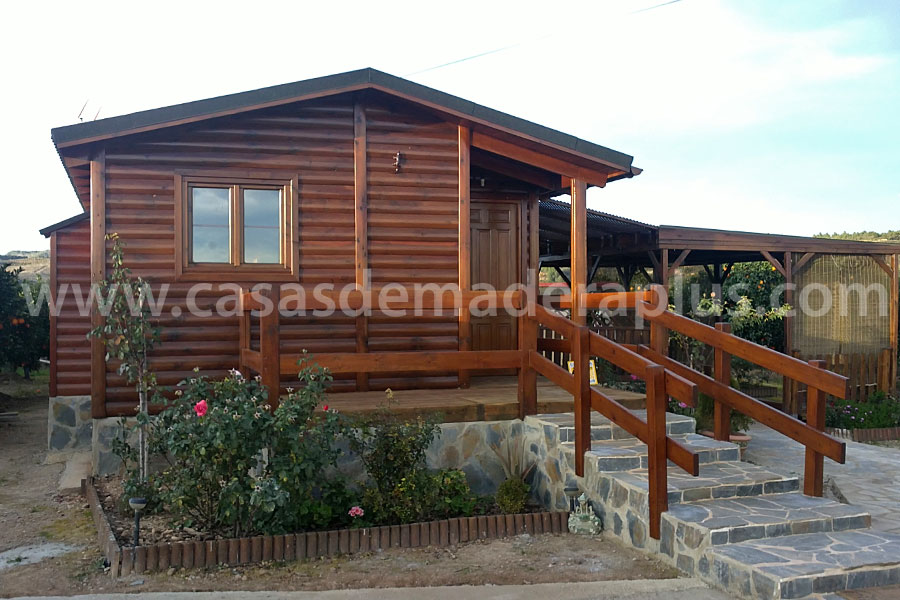Casa de madera 42m valencia - Casas prefabricadas valencia ...