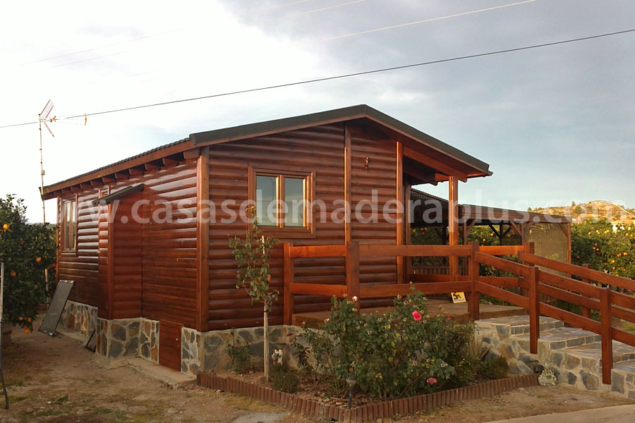 Casa de madera 42m valencia - Casas de madera valencia ...