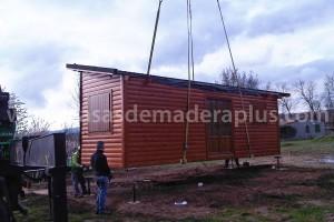 ampliacion casa de madera