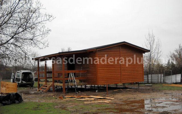 Casa de madera 36m zaragoza - Casas prefabricadas zaragoza ...