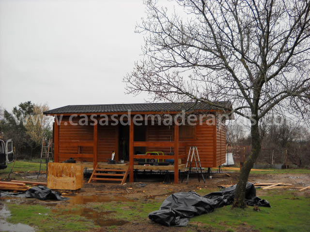 Casa de madera 36m zaragoza - Casas de madera zaragoza ...